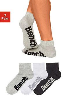 Bench zokni (3 Paar) magas pamuttartalommal