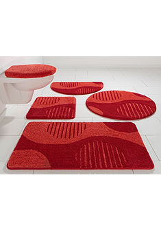 Fürdőszobaszönyeg, my home Selection, »Amrum«, magasság 15 mm, mikroszálas,csúszásgátló hátoldal