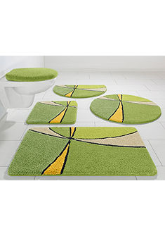 Fürdőszobaszönyeg, my home Selection, »Anthea«, magasság 15 mm, mikroszálas,csúszásgátló hátoldal