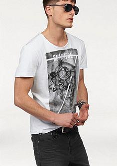 John Devin nyomott mintás póló