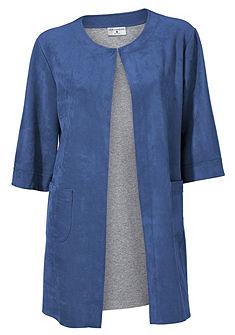 Koženkový kabát