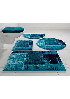 Fürdőszobaszőnyeg, fali WC szett, Grund, »Amay«, magasság 20mm, csúszásgátló hátoldallal