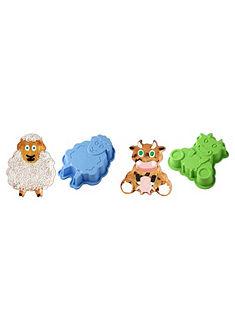 Silikonové pečící formy »ovce Emma« a »kráva Lotti« Dr. Oetker