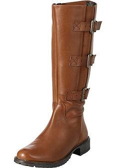 Bőszárú csizma XL
