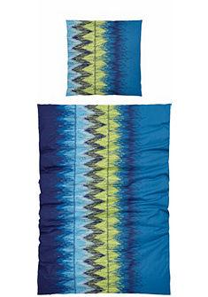 Ágynemű, Ecorepublic Home, »Alva«, színes cikkcakkmintás