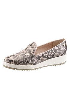Tom Tailor slipper cipő, kígyóbőr hatású