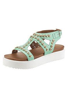 Inuovo Sandále s kamienkami