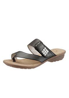 RIEKER lábujjközös papucs