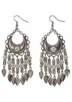 J. Jayz Náušnice s ozdobnými perlami«