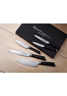 Damascénské nože značky Echtwerk (5-dílný set)