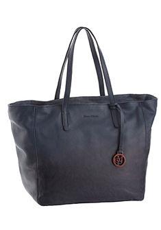 Marc O'Polo shopper táska táska bőrből színátmenetes