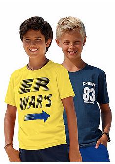kidsworld Tričko (v balení po 2 ks), pro kluky
