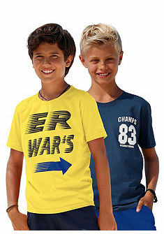 kidsworld fiú póló (2 darabos csomag)