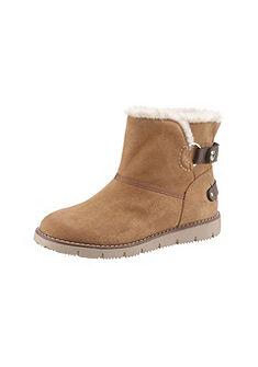 Tom Tailor téli magasszárú cipő