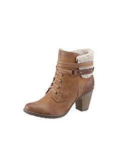 s.Oliver RED LABEL zimní kotníčková obuv