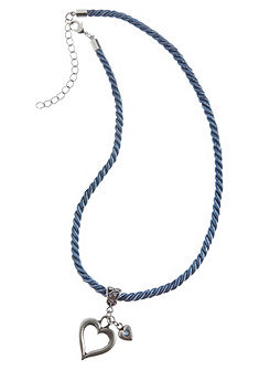 Krojový náhrdelník s príveskom v tvare srdca, Lusana