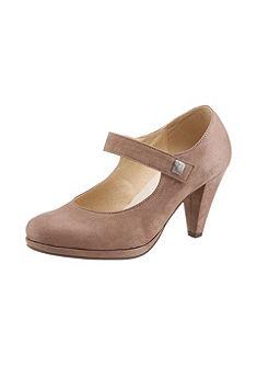 Népviseleti női cipő applikációval, Hirschkogel