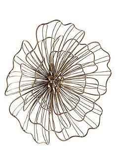 Fali dekorációs virág
