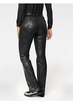 Koženkové nohavice