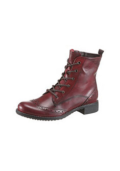 Šněrovací koníková obuv, Tamaris
