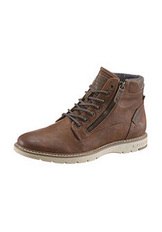 Mustang Shoes magasszárú cipő