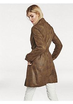 Kabát vkoženom vzhľade