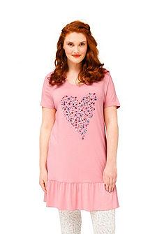sheego Trend Dlhé tričko s kvetinovou potlačou