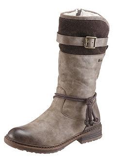 Rieker téli magasszárú cipő