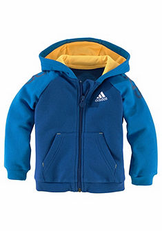 adidas Performance szabadidőruha»INFANTS 3 STRIPES FULL ZIP kapucnis felsőrész TRACKSUIT«
