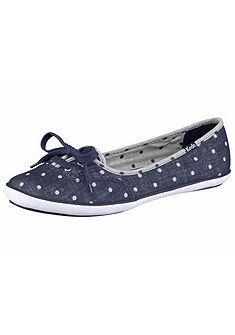 Keds Teacup Chambray Dot balerinacipő