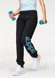 adidas Performance ESSENTIALS LINEAR CUFFED PANT jógové nohavice