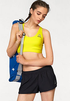 Reebok Športová podprsenka »Workout Ready Stacked Logo Medium Support Bra«