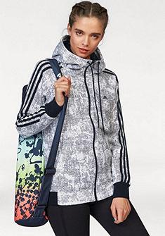 adidas Performance Mikina s kapucňou »ESSENTIALS 3S HOODIE AOP«
