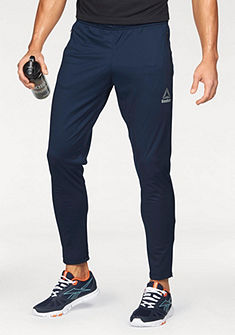 Reebok  »Workout Ready Stacked Logo Trackster Pant« sportnadrág