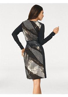 Patchwork mintás ruha