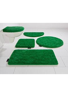 Fürdőszobaszőnyeg, félkör, Bruno Banani, »Lana«, magasság 25mm, csúszásgátlós hátoldallal
