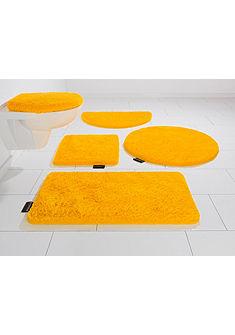 Kúpeľňová predložka, 3-dielna súprava pre štandardné WC, Bruno Banani, »Lana«, výška 25 mm, protišmyková úprava