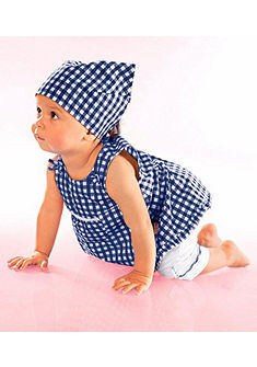 Klitzeklein ruha, nadrág & Kopftuch (szett, 3 részes), babáknak