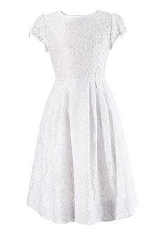 Detské šaty s čipkou a saténovou mašľou, Turi Landhaus