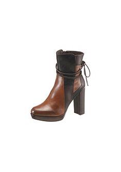 Spm kotníčková obuv na vysokém podpatku
