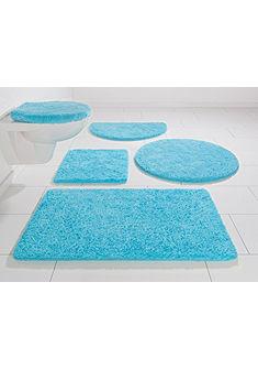Fürdőszobaszőnyeg, szett fali WC-hez, my home, »Brodi«, vastagság 20 mm, csúszásgátló hátoldallal