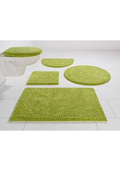 Fürdőszobaszőnyeg, félkör, Ecorepublic Home, »Maren«, pamut, magasság 25mm