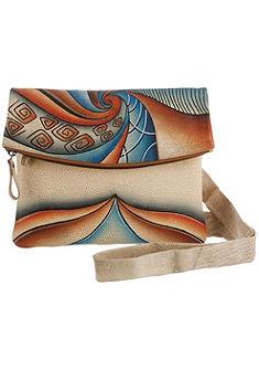 Art & Craft by Greenland Taška, ručne maľované kožené