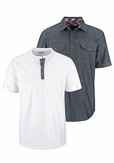 Arizona rövid ujjú ing (szett pólóval)