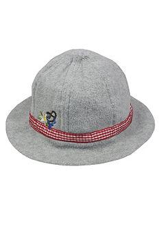 Krojový klobúk detský s výšivkou, BONDI