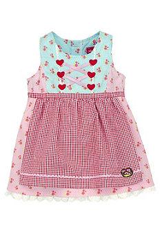 Krojové šaty detské so šnurovaním, BONDI