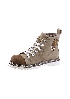 Detská obuv s nášivkou znaku po stranách, Spieth & Wensky