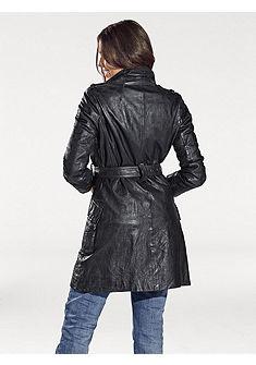Kožený kabát, jahňacia koža