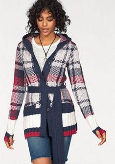 KangaROOS Pletený sveter s kapucňou