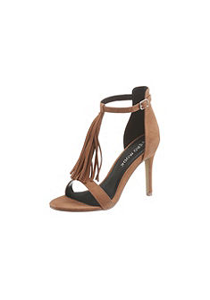 Vero Moda High Heel Sandály s třásněmi